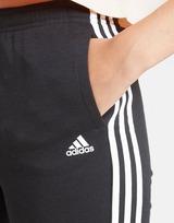adidas Girls' 3-Stripes Fleece Joggers Junior