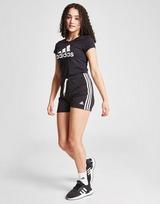 adidas Girls' Badge of Sport Fleece Shorts Junior