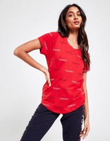 Tommy Hilfiger All Over Print Logo T-Shirt