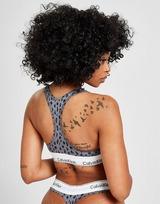 Calvin Klein Underwear Modern Cotton Leopard Bra