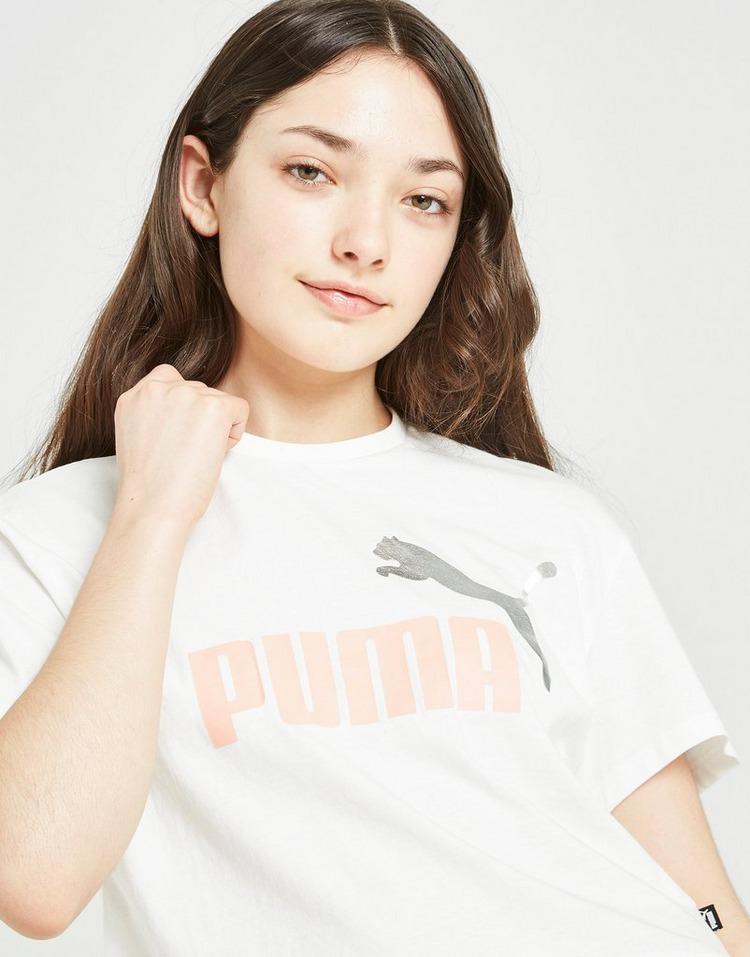 Puma Girls' Core Crop T-Shirt Junior