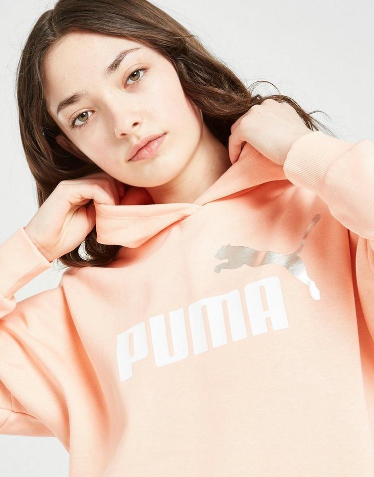 Puma Girls' Core Crop Hoodie Junior
