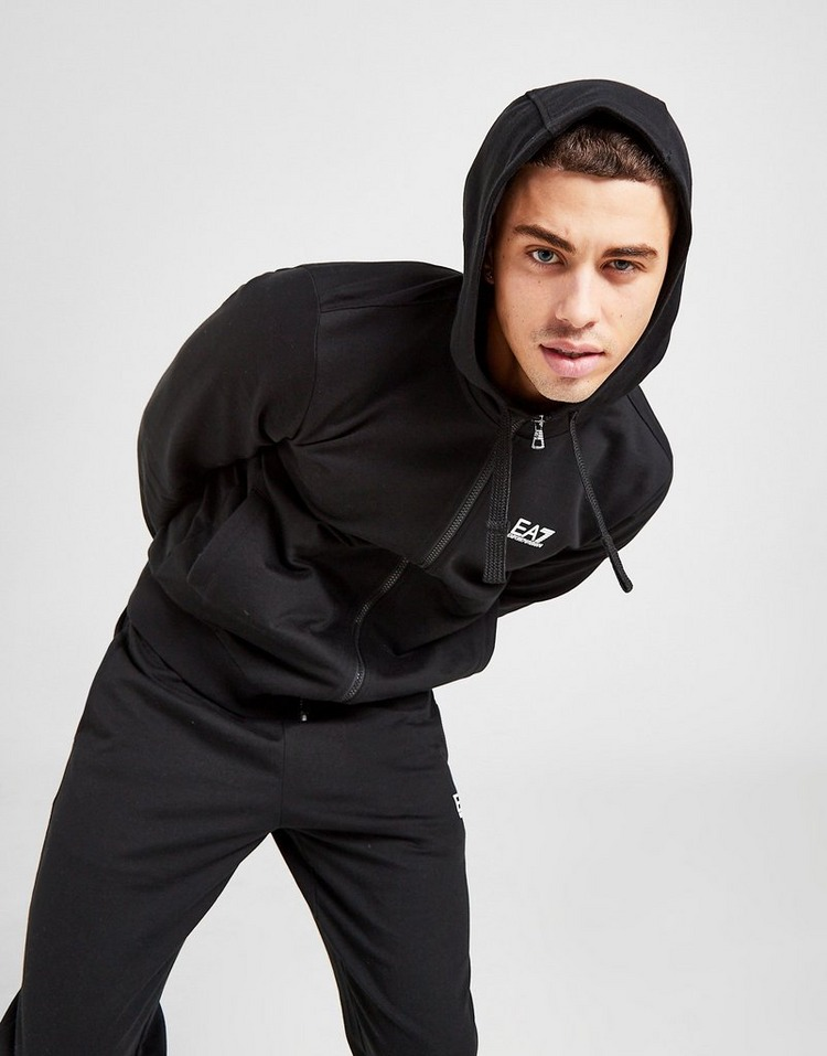 Emporio Armani EA7 Core French Terry Hooded Tracksuit