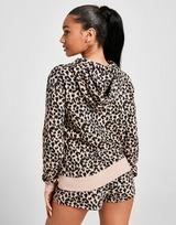 Calvin Klein Logo Leopard Print Hoodie