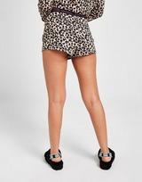 Calvin Klein Logo Leopard Shorts