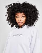 Calvin Klein Performance Tape Logo Overhead Felpa con cappuccio Donna