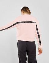 Calvin Klein Performance Tape Back Crop Crew Sweatshirt