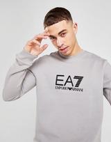 Emporio Armani EA7 Silicone Large Logo Crew Sweatshirt