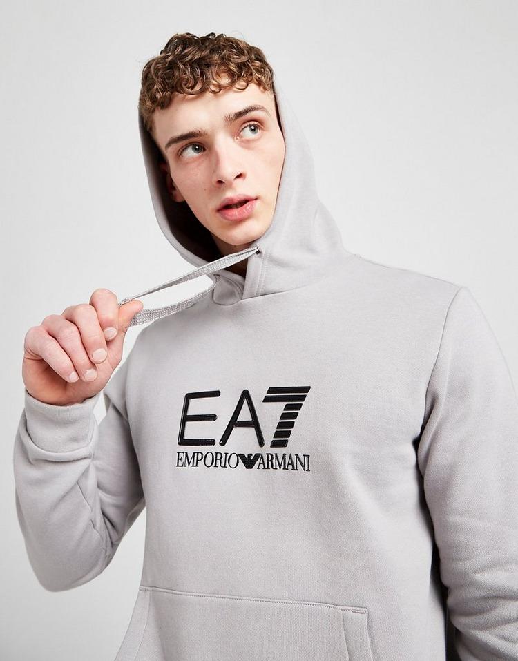 Emporio Armani EA7 Silicone Large Logo Overhead Hoodie
