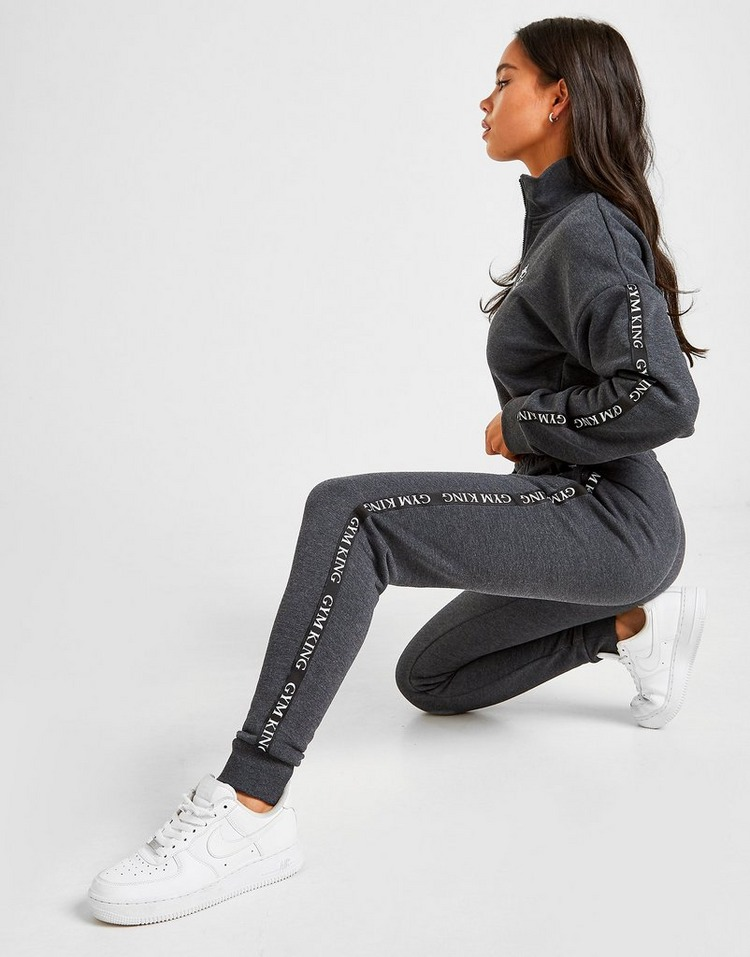 Gym King Tape Joggers