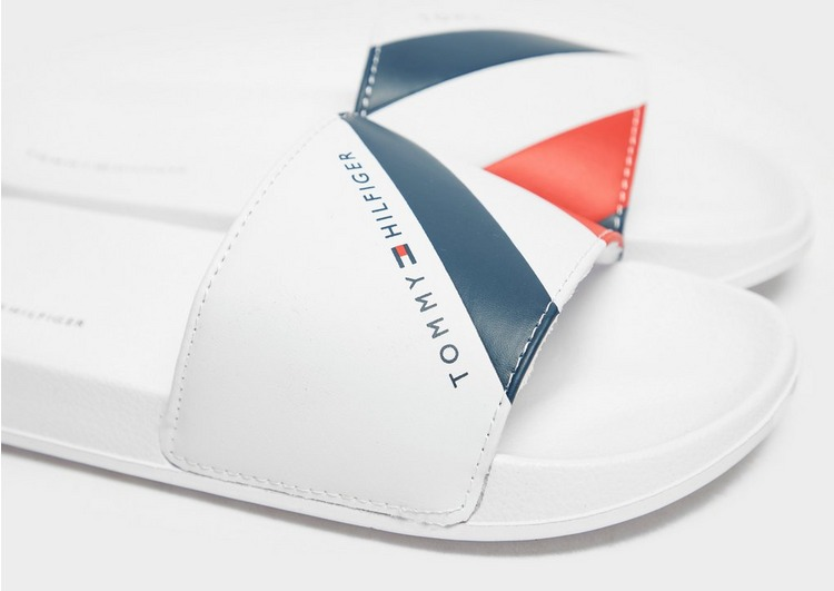 Tommy Hilfiger Stripes Slides Junior