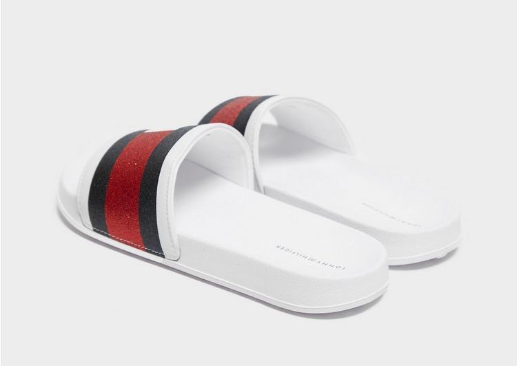 Tommy Hilfiger Flag Slides Junior