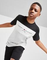 Tommy Hilfiger T-shirt à Empiecement de Couleur Essential Junior