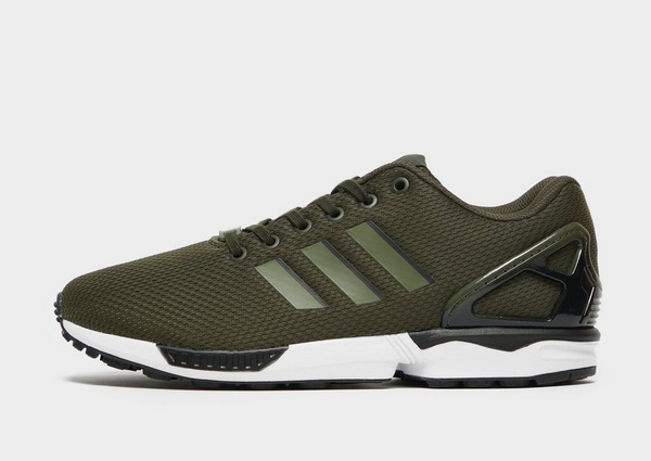 Green adidas Originals ZX Flux Fade | JD Sports