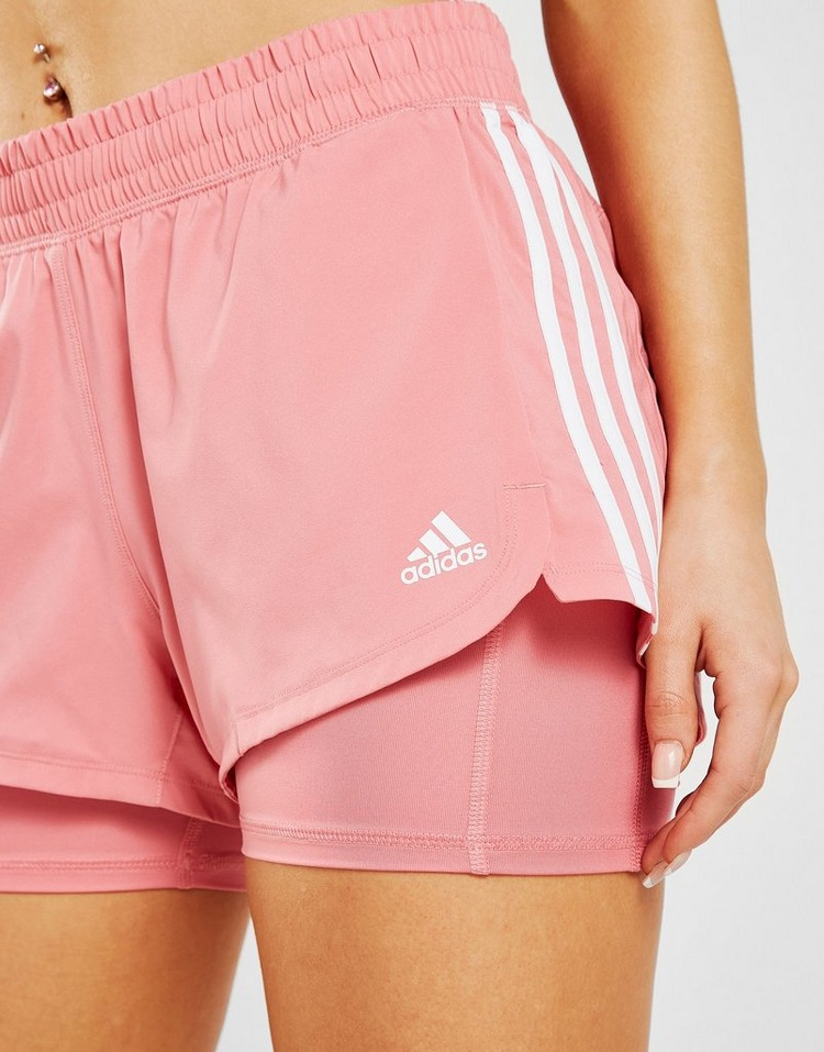 adidas 3-Stripes Badge Of Sport 2-In-1 Shorts
