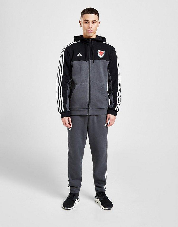 adidas Wales 3-Stripes Full Zip Hoodie