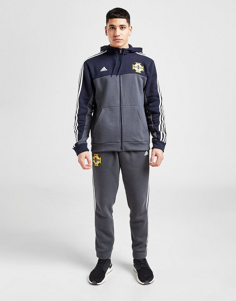 adidas Northern Ireland 3-Stripes Full Zip Hoodie