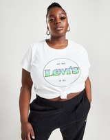 Levis Fade Logo Plus Size T-Shirt