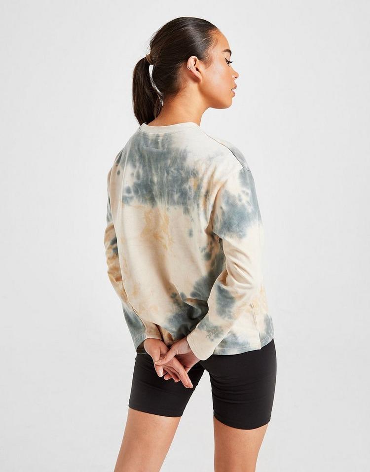 Sixth June Tie Dye Long Sleeve Boyfriend T-Shirt