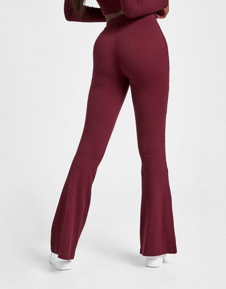 Sixth June Ribbed Flare Pants