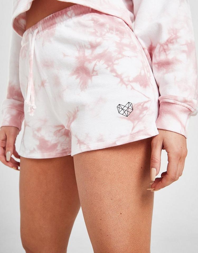 Pink Soda Sport Tie Dye Shorts Donna