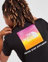 The North Face T-Shirt Box Back Hit Junior