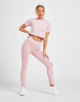 Pink Soda Sport Rib Crop T-Shirt