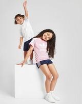 adidas Originals 3-Stripes T-Shirt & Shorts Completo Bambina