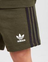adidas Originals conjunto camiseta/pantalón corto Sliced para bebé