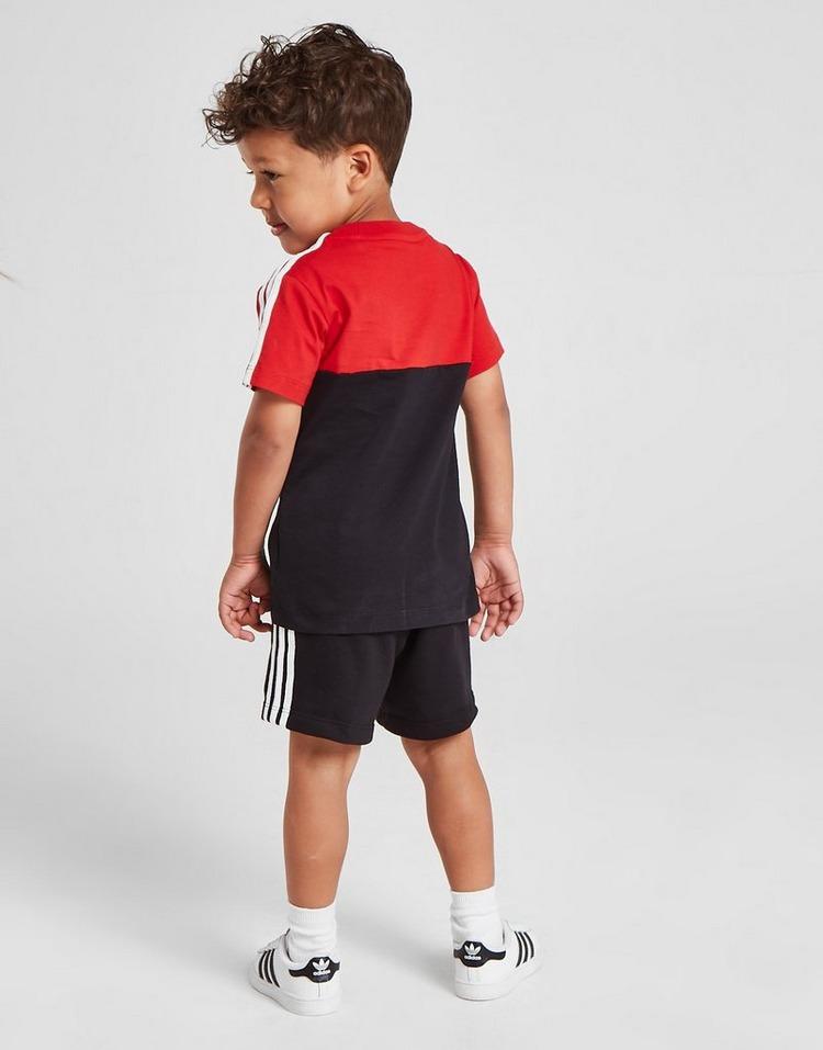 adidas Originals Sliced T-Shirt/Shorts Set Infant