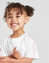 adidas Originals Tristripe T-Shirt & Shorts Completo Neonato
