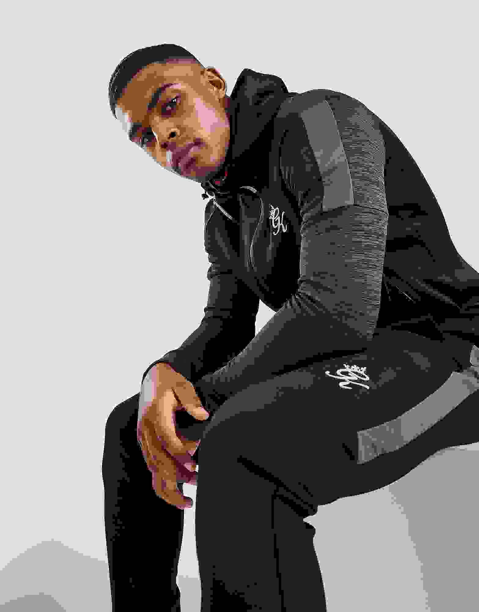 Gym King Mens Overhead Pullover Crew /& Hooded Sweatshirt Sweater Hoodie Black