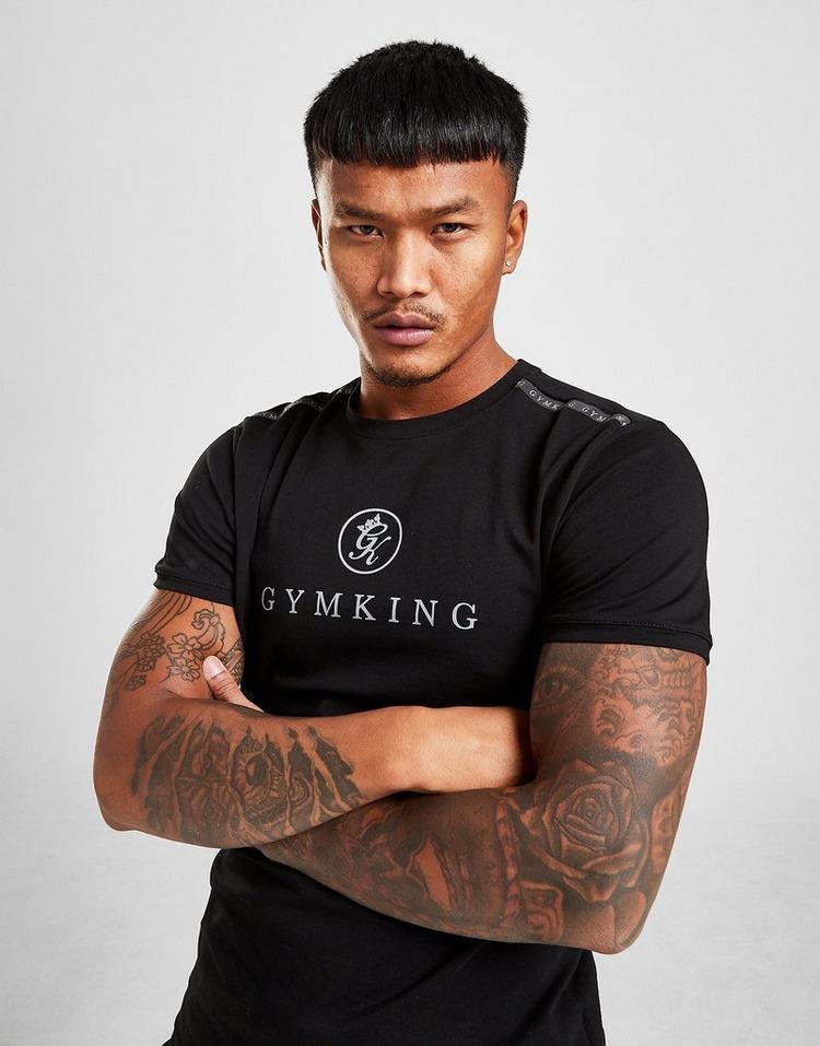 Gym King Tape Large Logo T-Shirt