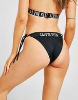 Calvin Klein Swim Bas de Bikini Cheeky String Femme