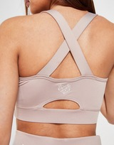 Pink Soda Sport Pipe Cut Out Bra