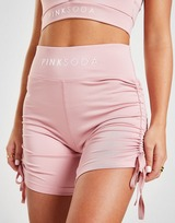 Pink Soda Sport Ruched Shorts