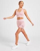 Pink Soda Sport Ruched Reggiseno sportivo Donna
