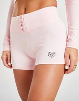 "Pink Soda Sport Lace Up 3"" Shorts"