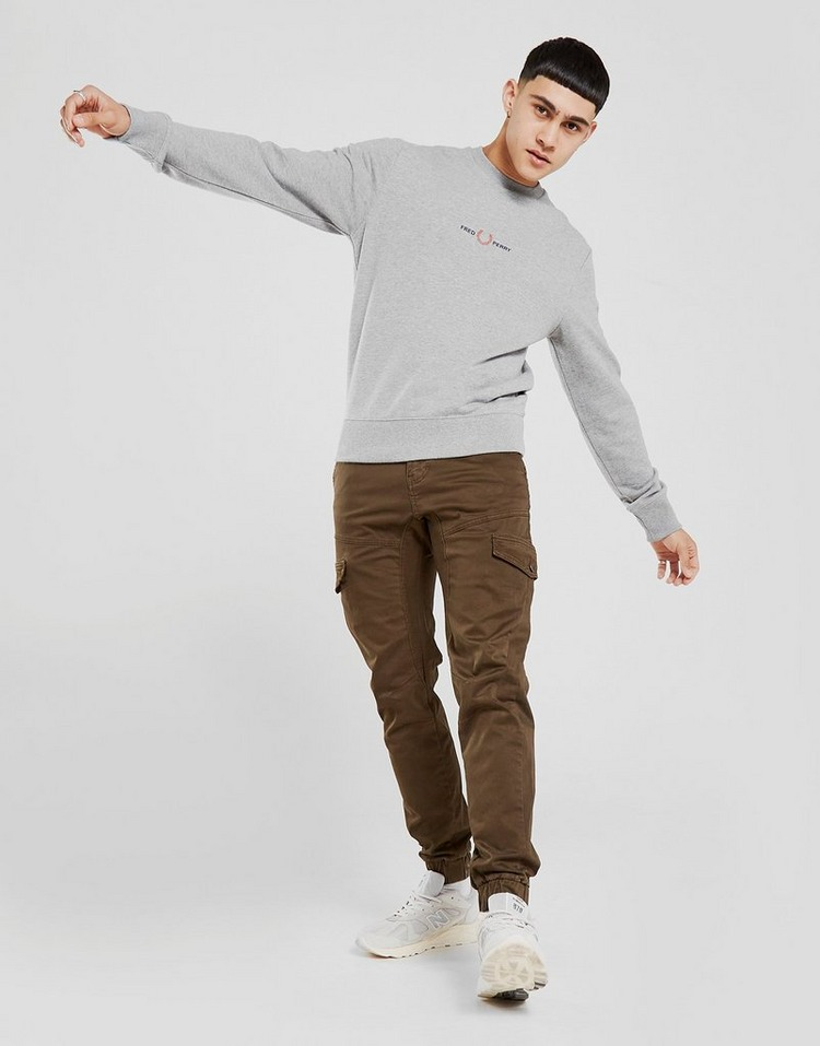 Fred Perry Central Mini Logo Sweatshirt