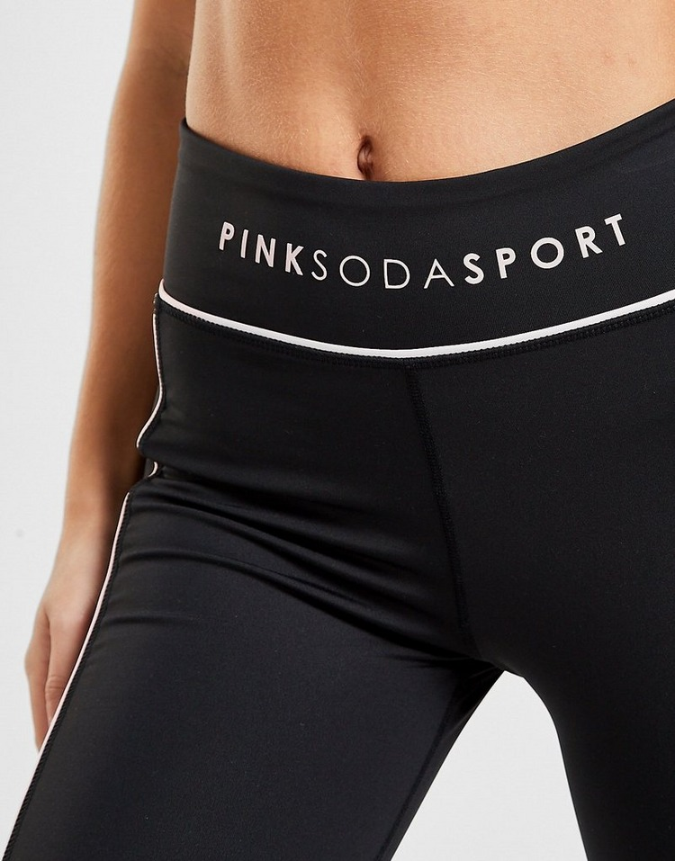 Pink Soda Sport Piped Tights