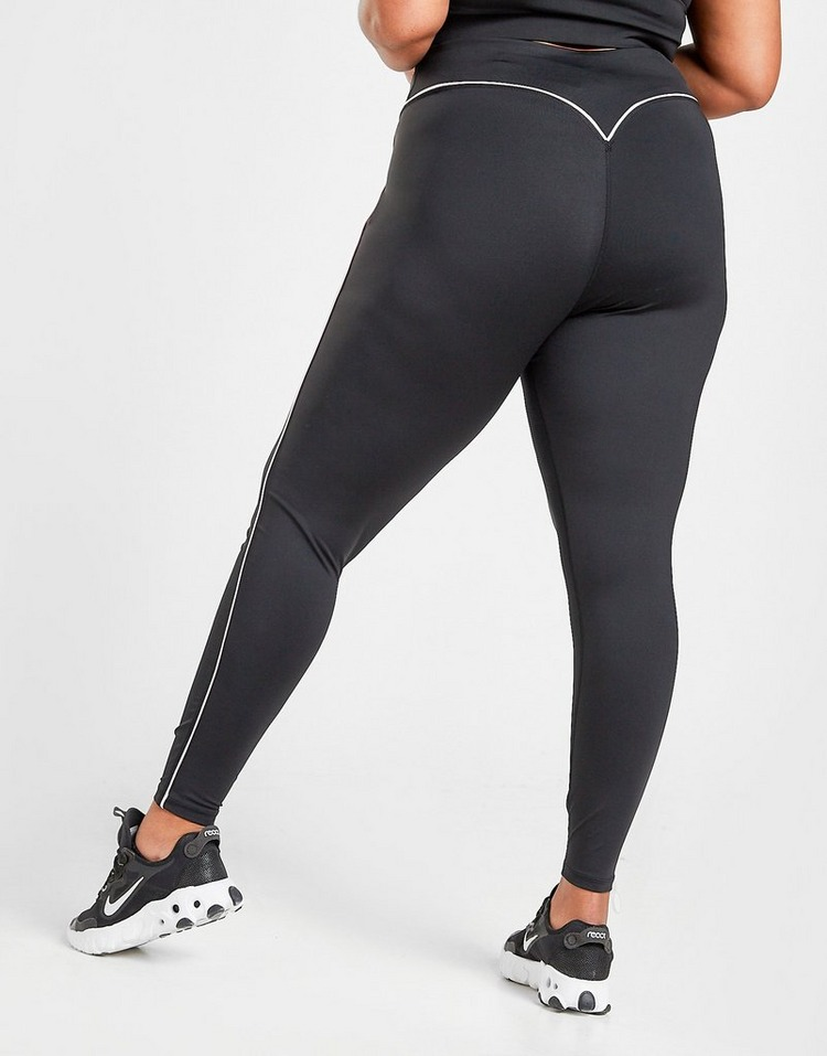 Pink Soda Sport Pipe Plus Size Tights