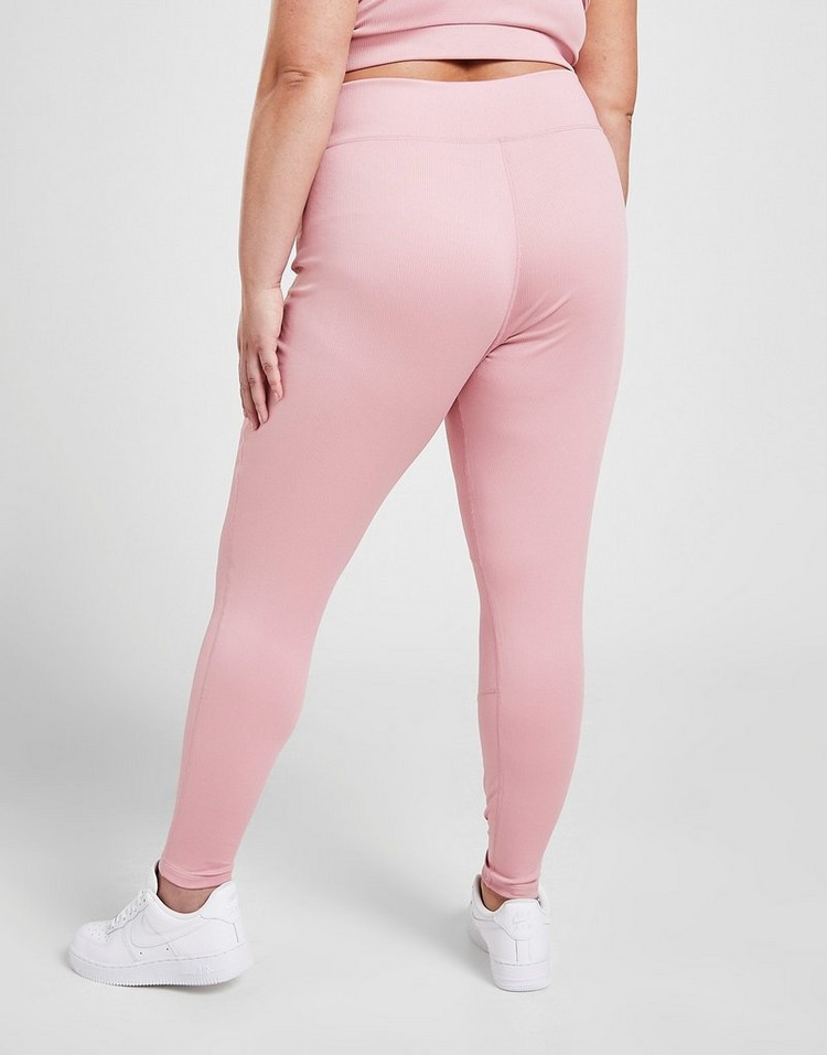 Pink Soda Sport Stitch Plus Size Tights