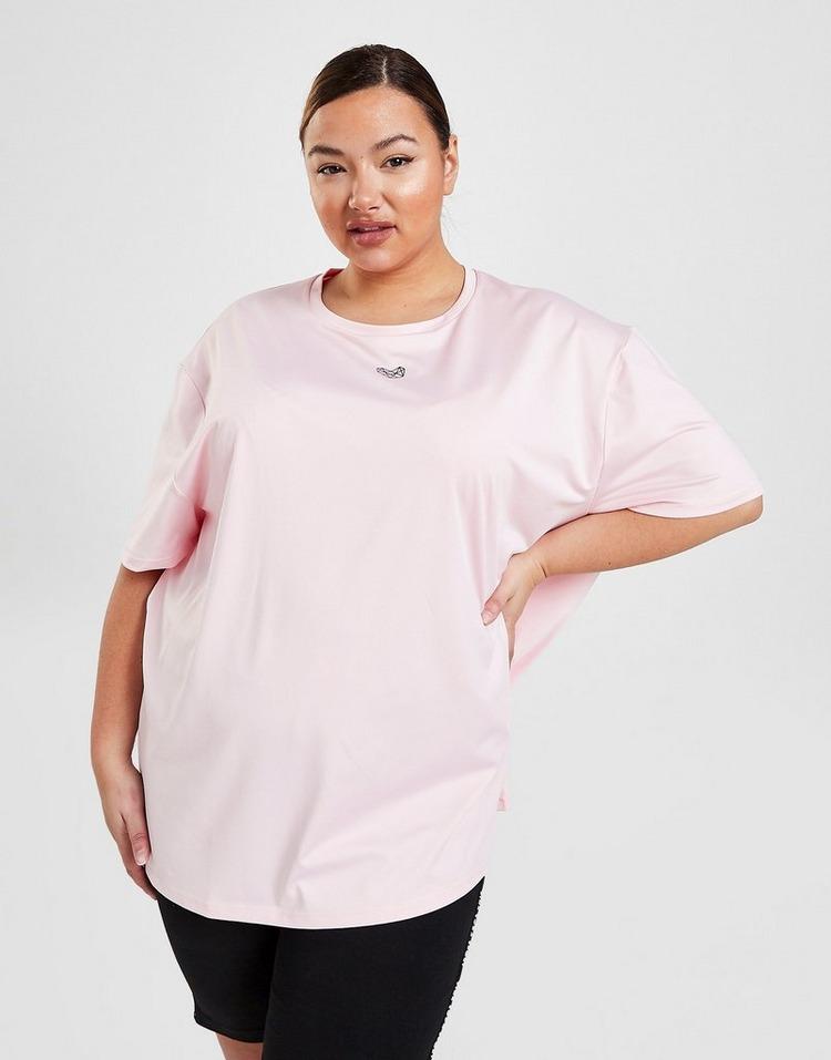 Pink Soda Sport Core Plus Size Short Sleeve T-Shirt