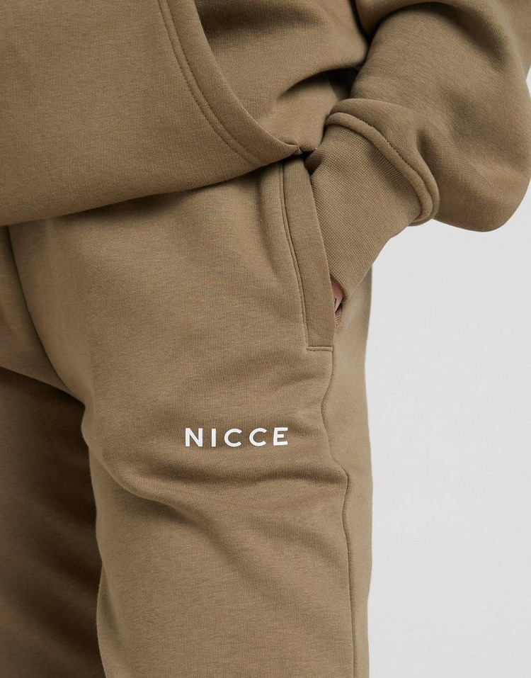 Nicce Logo Fleece Joggers
