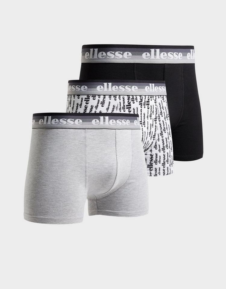 Ellesse 3 Pack Boxer Shorts