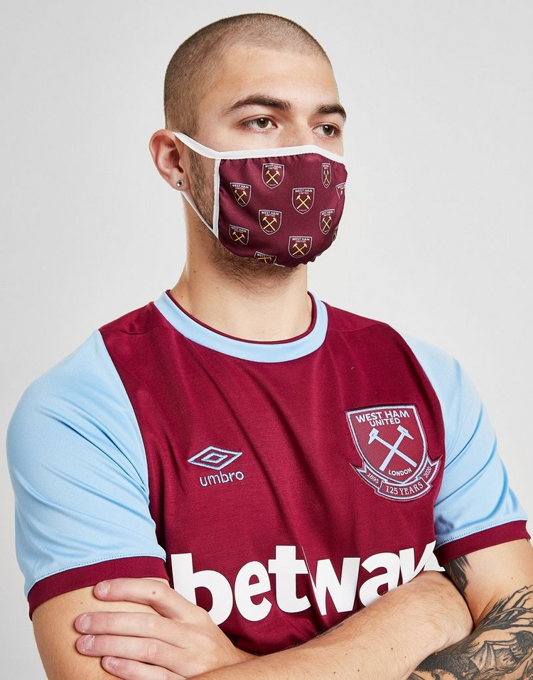 Official Team 3 Masques Couvre Visage West Ham United ;
