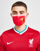Official Team Liverpool FC 3 Pack Face Coverings