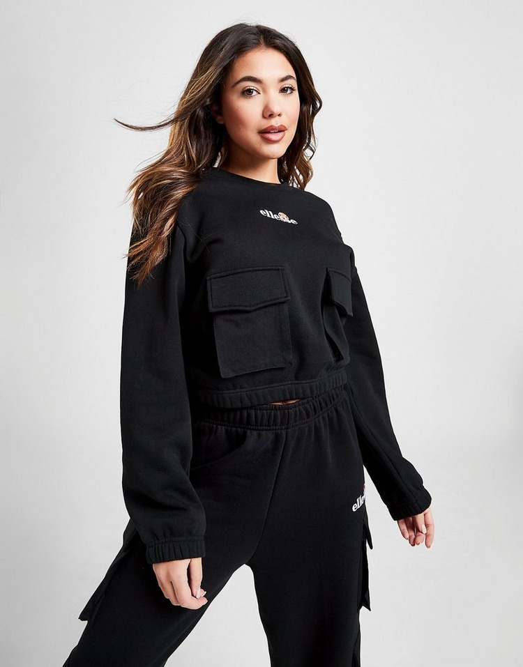 Ellesse Cargo Pocket Crew Sweatshirt