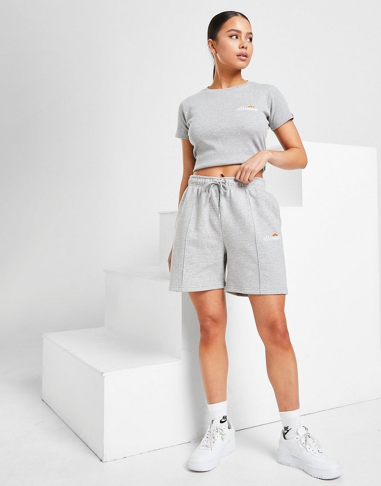 Ellesse Pin Tuck Boyfriend Shorts