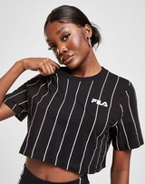 Fila Stripe Crop T-Shirt